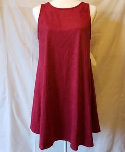 NWT Altar'd State Ruby Red Sharley Swing Dress